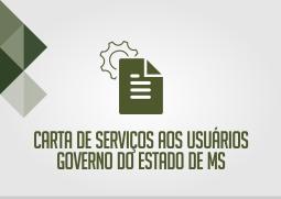carta de serviços aos usuários governo do estado de ms.