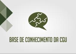 base de conhecimento da cgu.